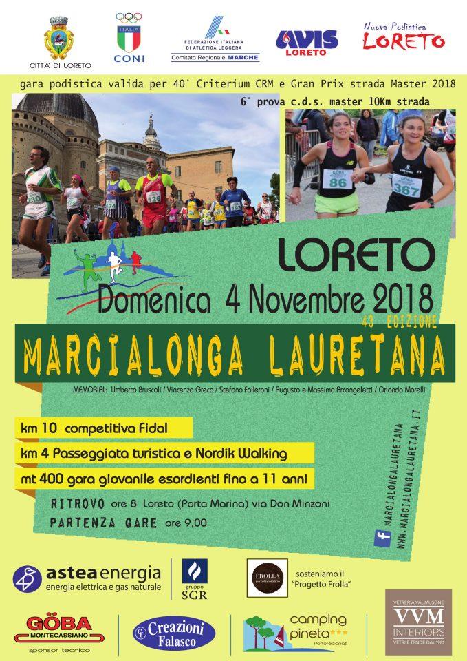 volantino marcialonga lauretana 2018